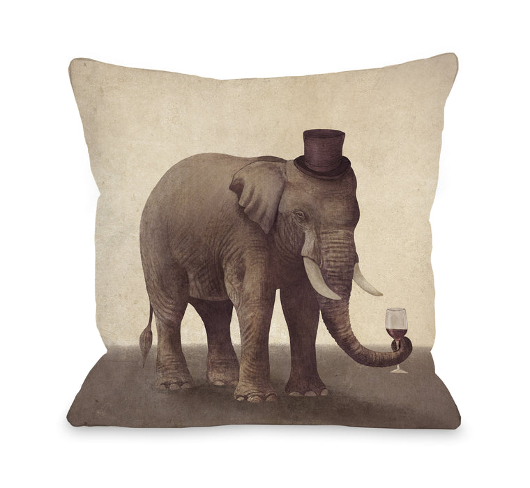 A Fine Vintage - Multi Throw Pillow by Terry Fan