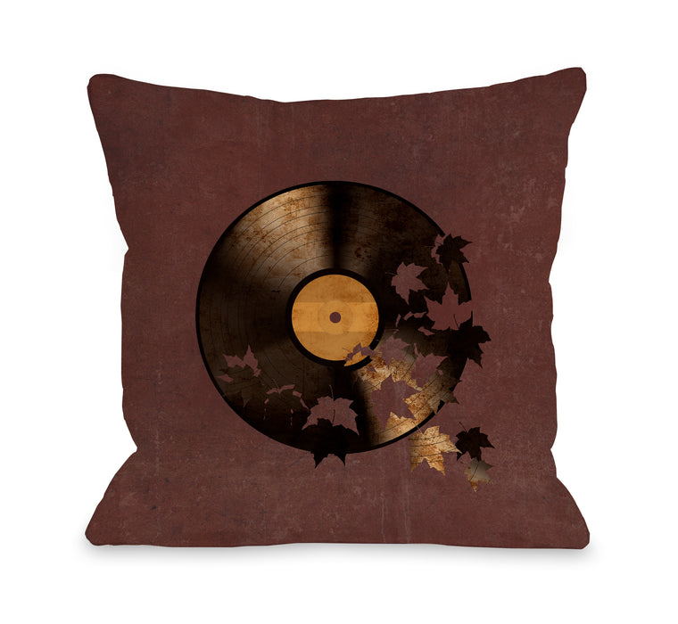 Autumn Song - Multi Throw Pillow by Terry Fan