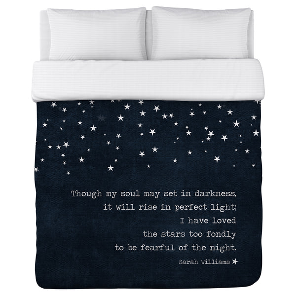 Fearful of the Night Lightweight Duvet by Cheryl Overton