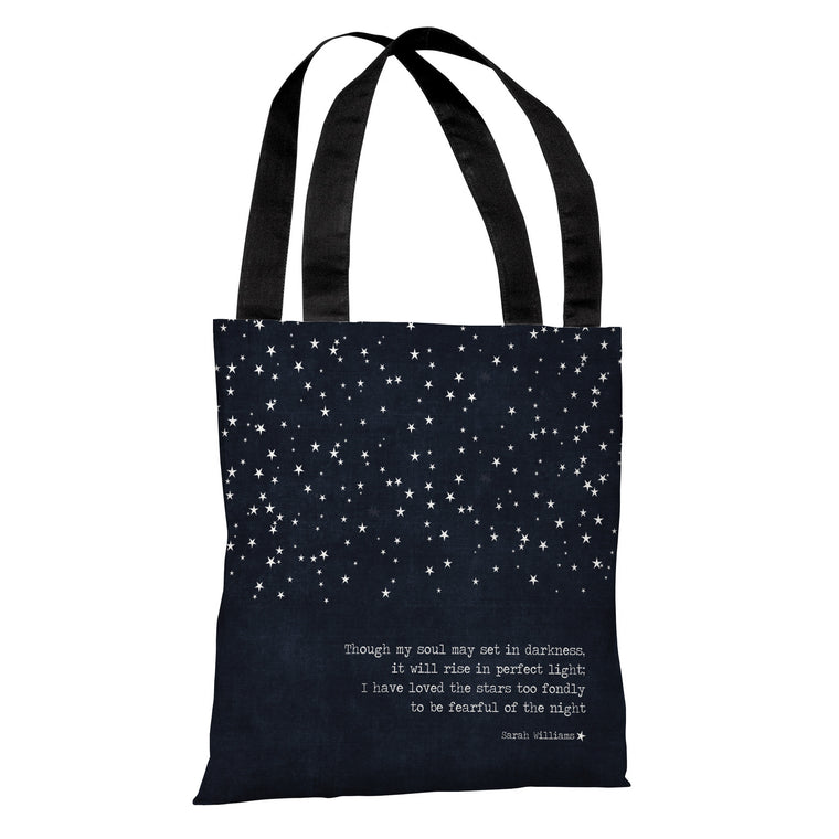 Fearful of the Night Tote Bag by Cheryl Overton