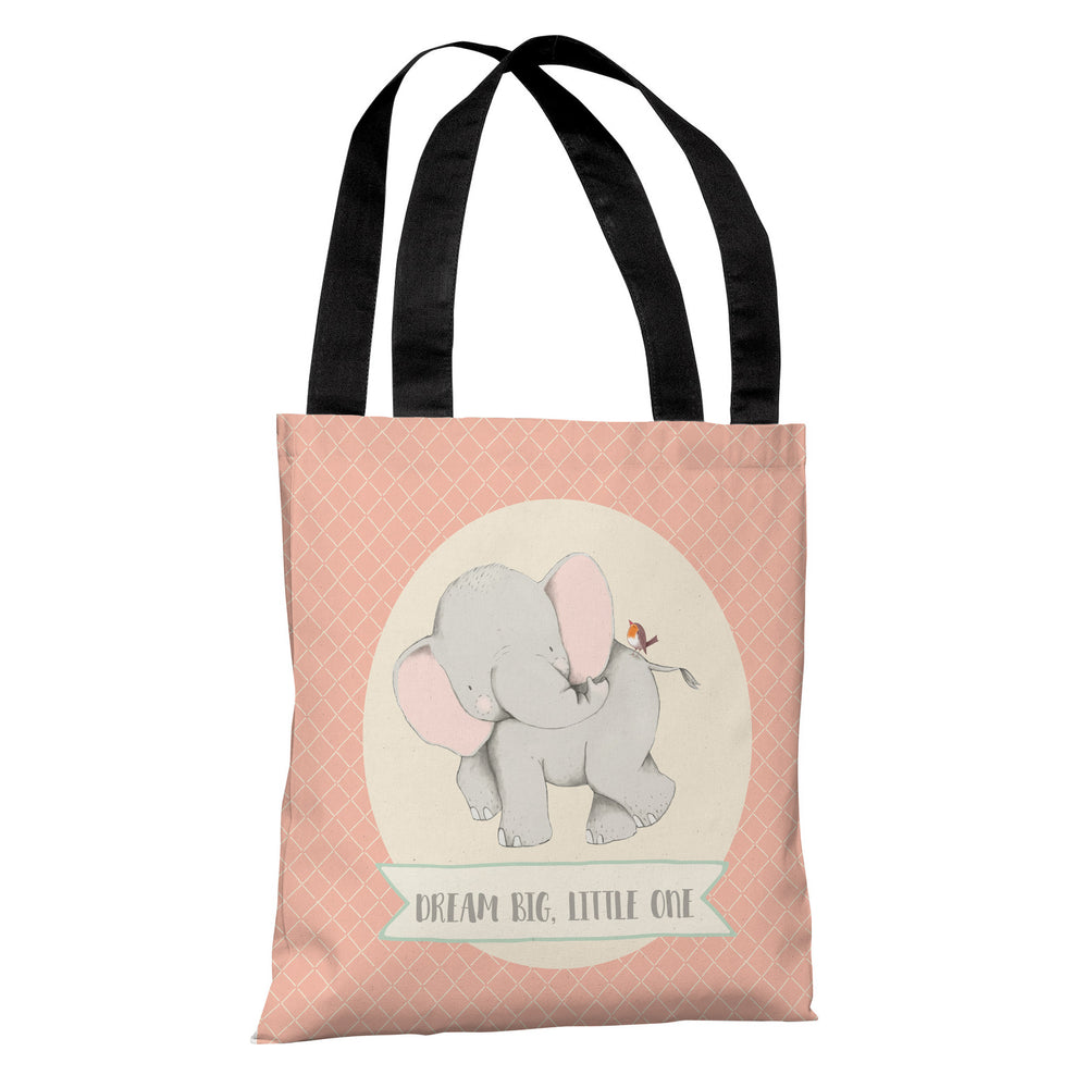 Dream Big Little One Tote Bag by Cheryl Overton