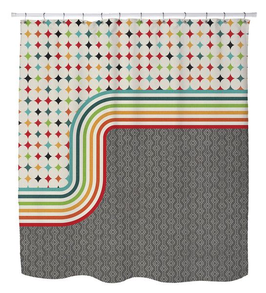 Mod Shower Curtain by Cheryl Overton
