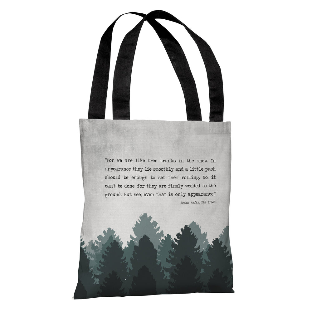 The Trees Tote Bag by Cheryl Overton