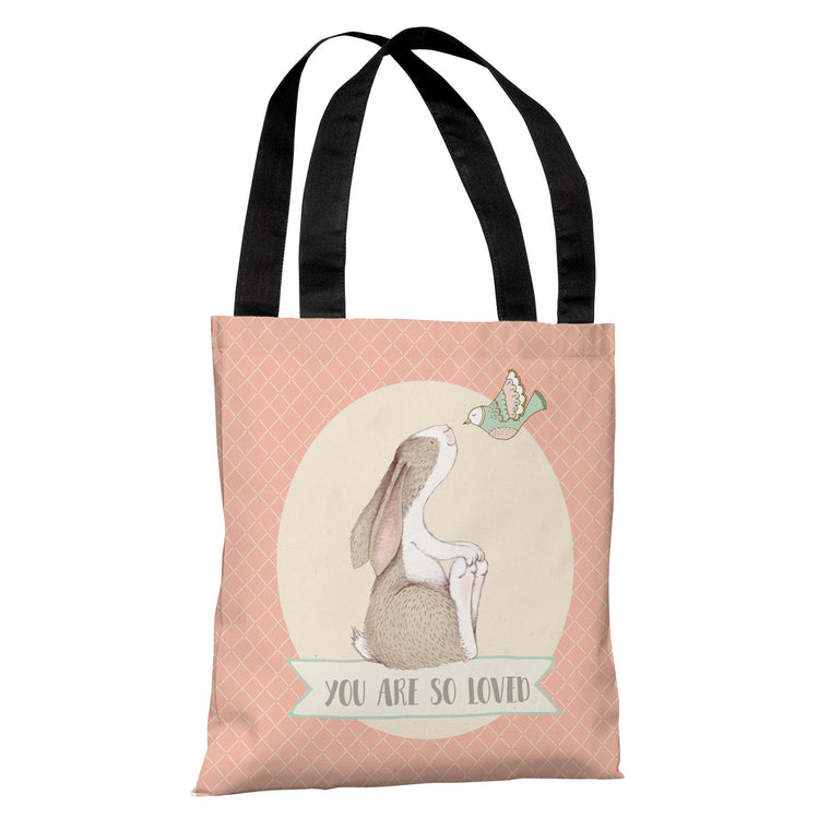 You Are So Loved Tote Bag by Cheryl Overton