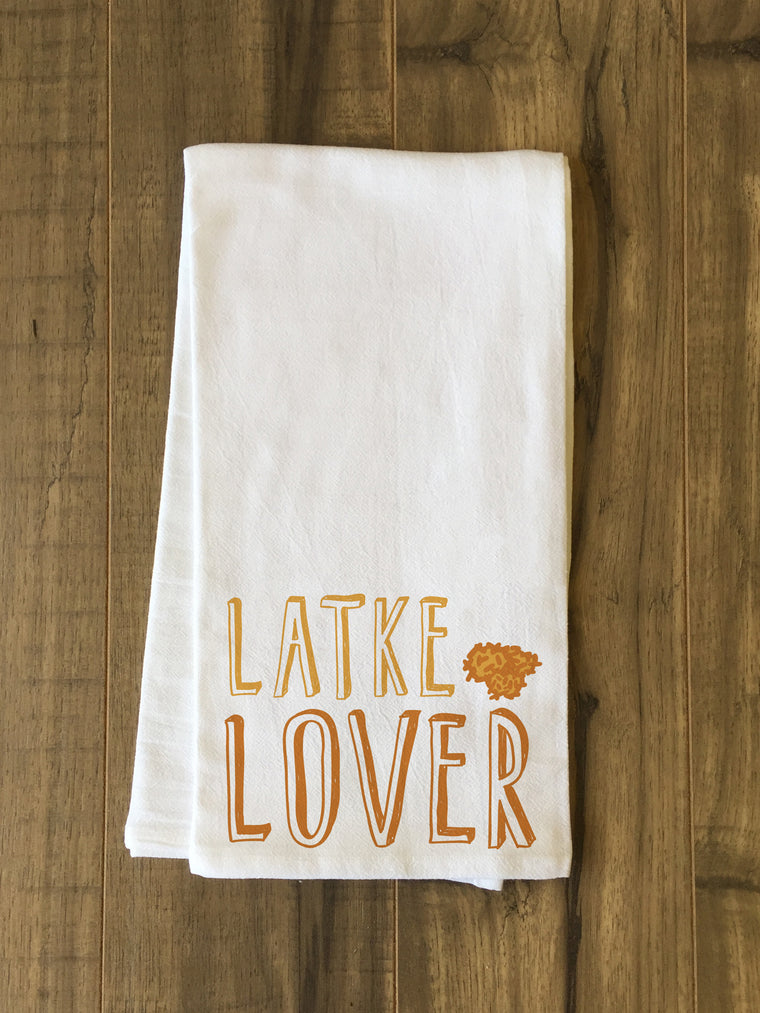 Latke Lover Kitchen Towel by OBC