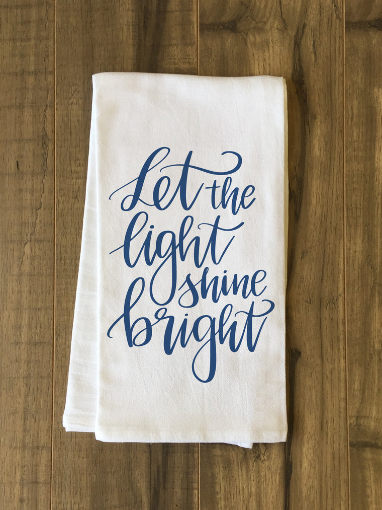 Let The Light Shine Bright Kitchen Towel by OBC