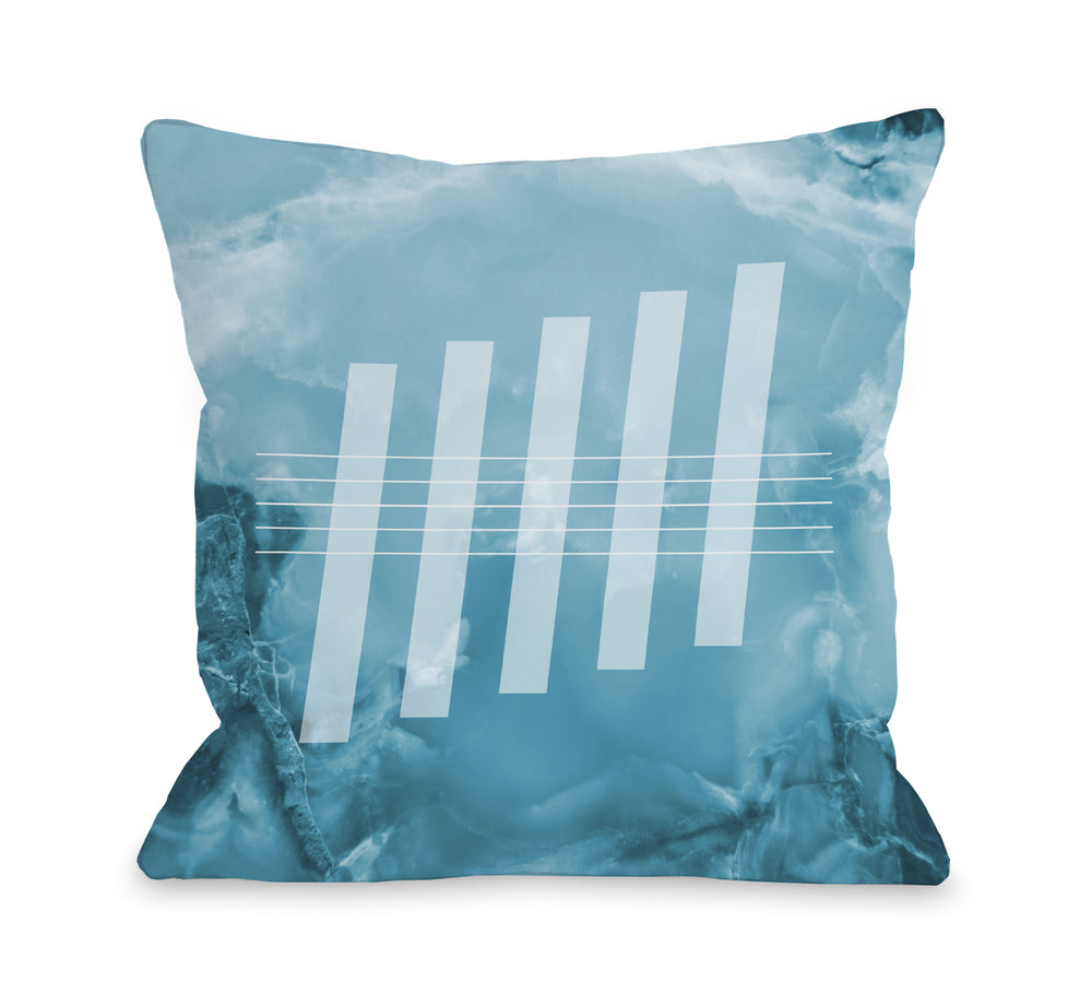 Aria Agate  - Throw Pillow by OBC