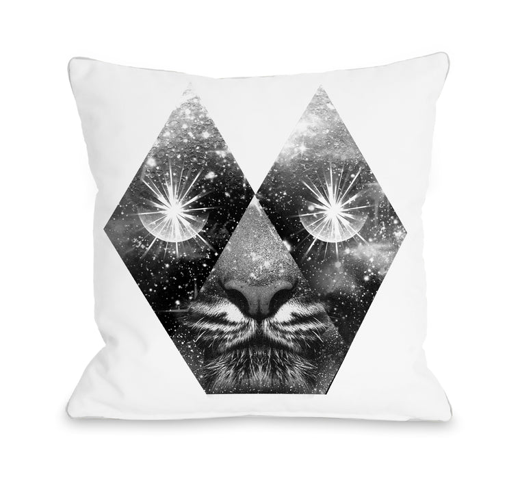 Cosmic White - Multi Throw Pillow by Ali Gulec