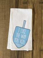The Way You Roll - Blue Tea Towel by OBC