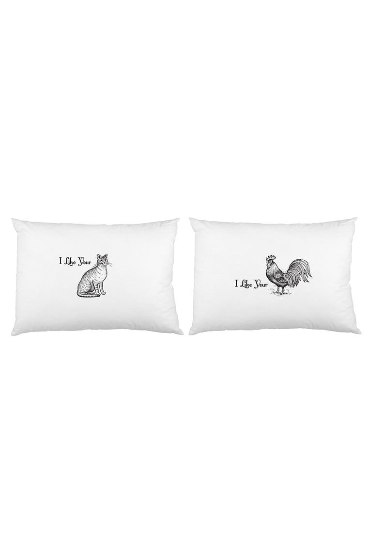 I Like Your Pillowcase Set By OBC