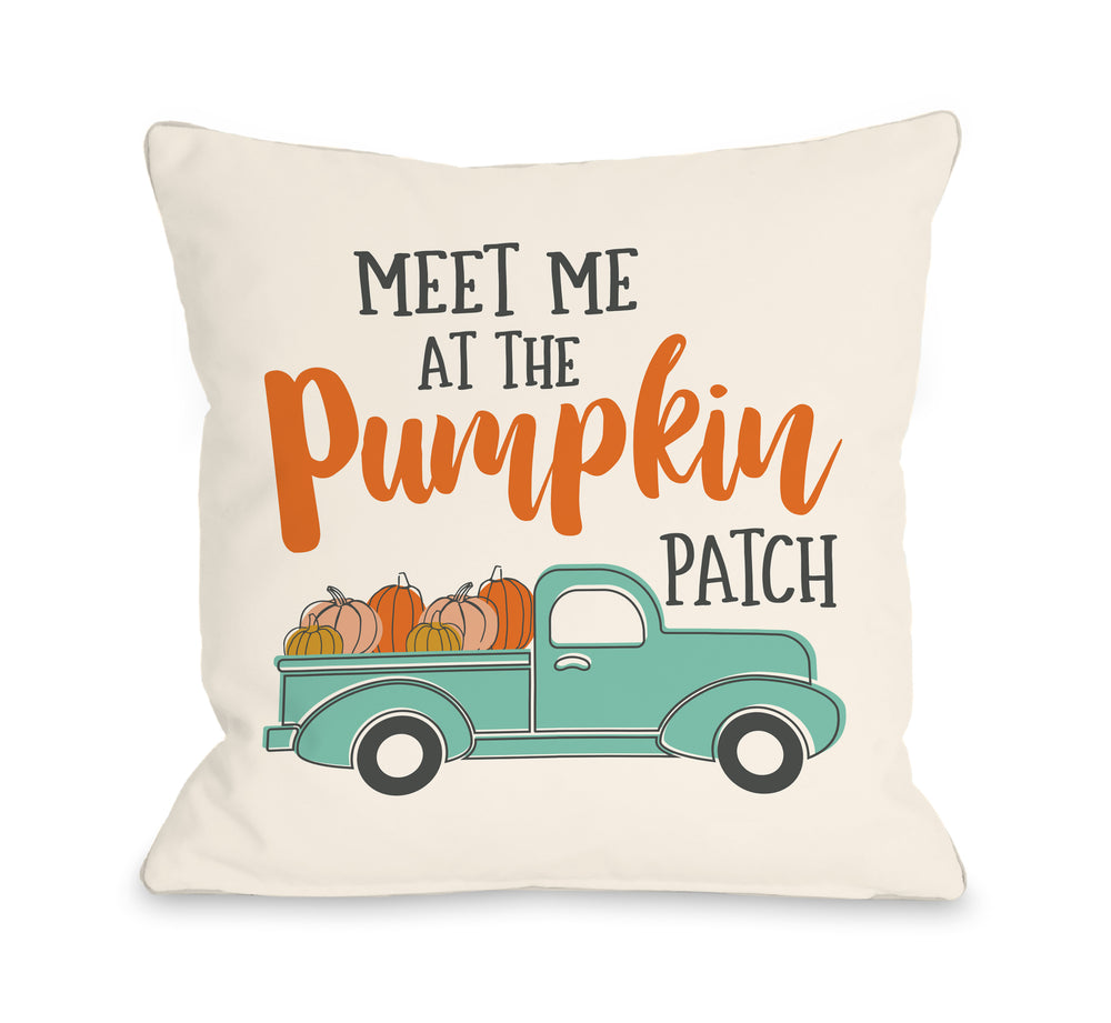 Meet Me At The Pumpkin Patch - Multi Pillow by OBC