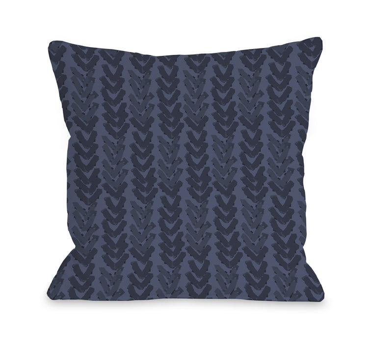 Up Arrows - Throw Pillow by OBC