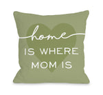 Home Is Where Mom Is - Throw Pillow by OBC
