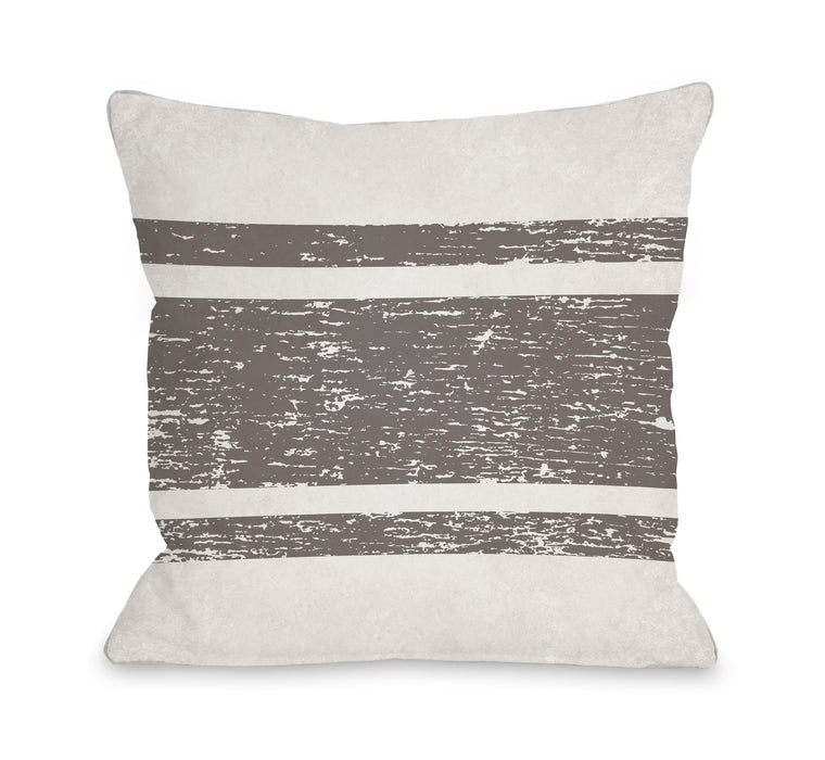 Stripe 2 - Throw Pillow by OBC