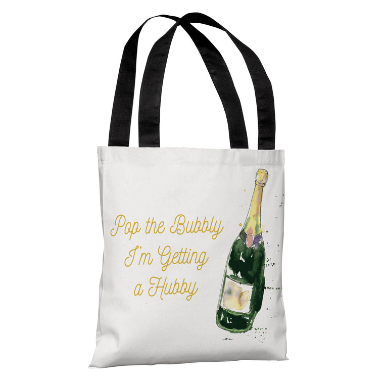 Pop The Bubbly - Tote Bag by OBC