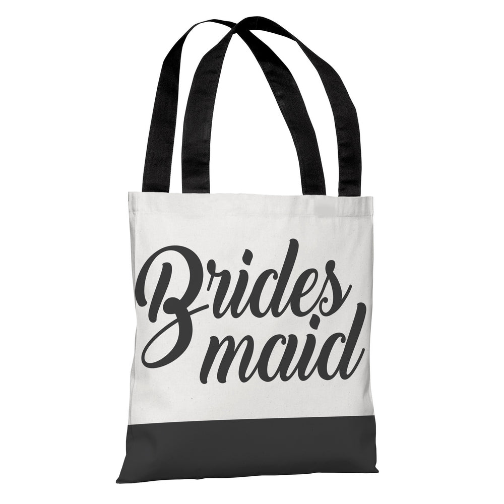 Color Block Bridal Party - Bridesmaid - Tote Bag by OBC