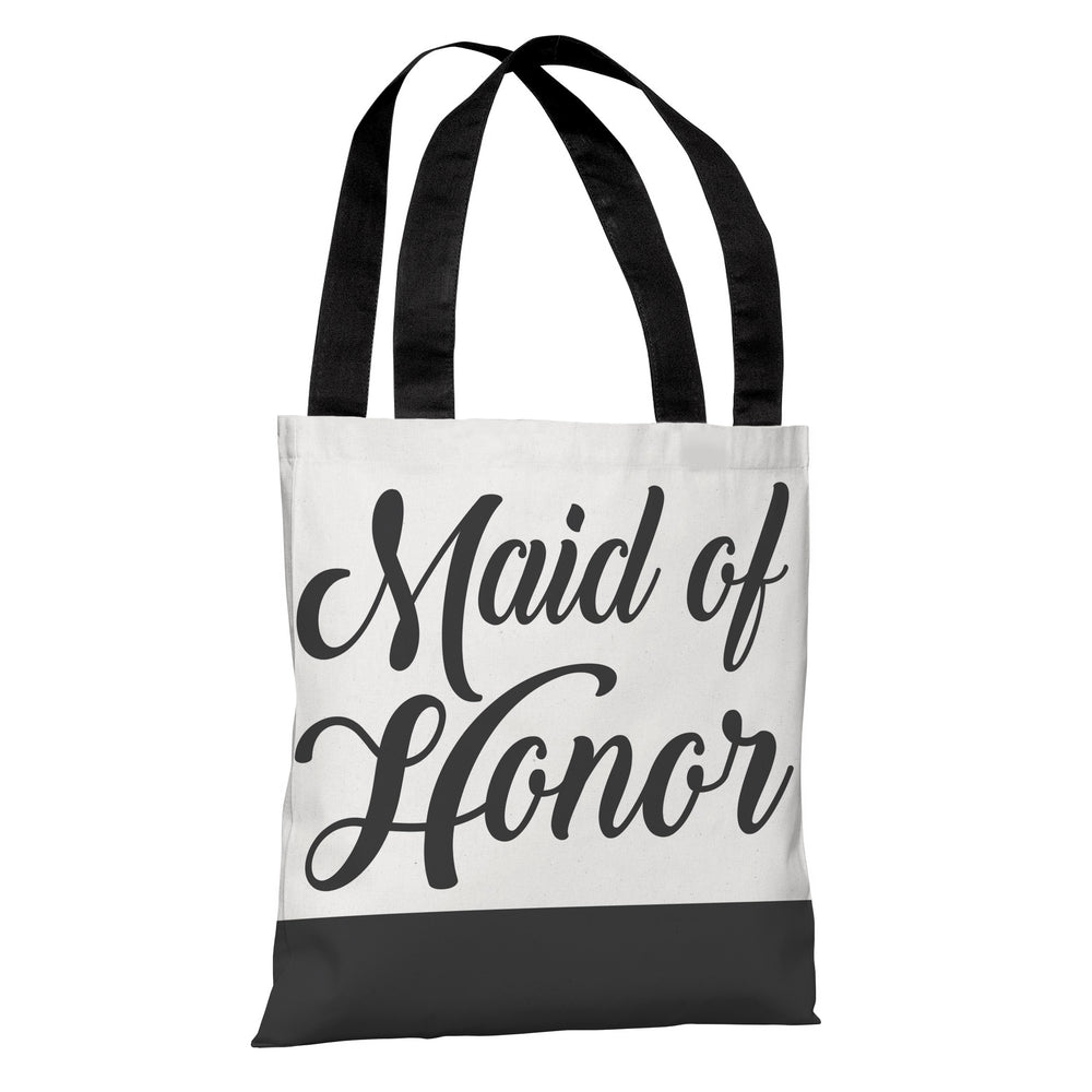 Color Block Bridal Party - Maid of Honor - Tote Bag by OBC