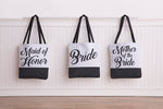 Color Block Bridal Party - Tote Bag by OBC