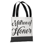 Color Block Bridal Party - Matron of Honor - Tote Bag by OBC