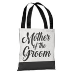 Color Block Bridal Party - Mother of the Groom - Tote Bag by OBC