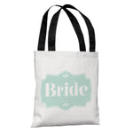 Delicate Bridal Party - Bride - Tote Bag by OBC