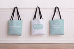 Delicate Bridal Party - Tote Bag by OBC