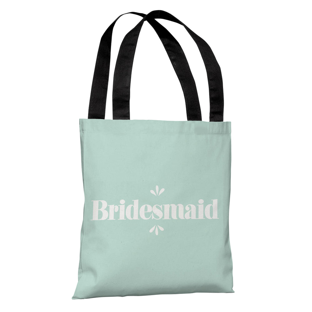 Delicate Bridal Party - Bridesmaid - Tote Bag by OBC
