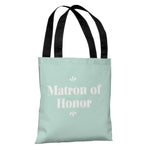 Delicate Bridal Party - Matron of Honor - Tote Bag by OBC