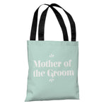 Delicate Bridal Party - Mother of the Groom - Tote Bag by OBC