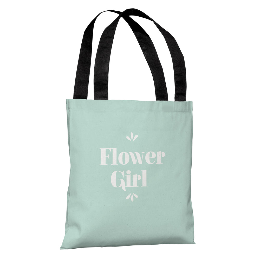 Delicate Bridal Party - Flower Girl - Tote Bag by OBC