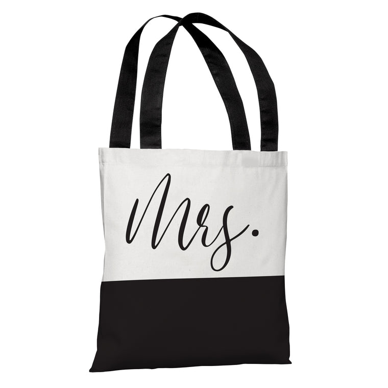 Mrs Color Block - Tote Bag by OBC