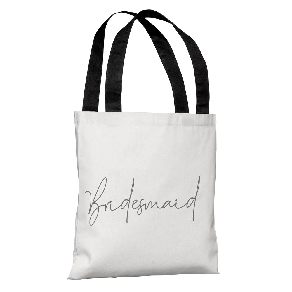 Script Ring Bridal Party - Bridesmaid - Tote Bag by OBC