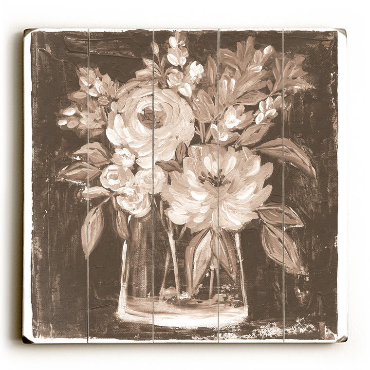 Sepia Wood Wall Decor by Nancy Anderson