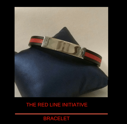 The Thin Red Line Initiative Bracelet