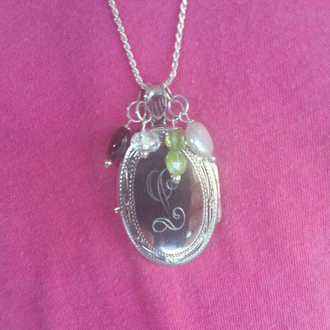 Large Oval Locket