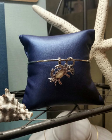 Our Caribbean Crab Beach Bangle