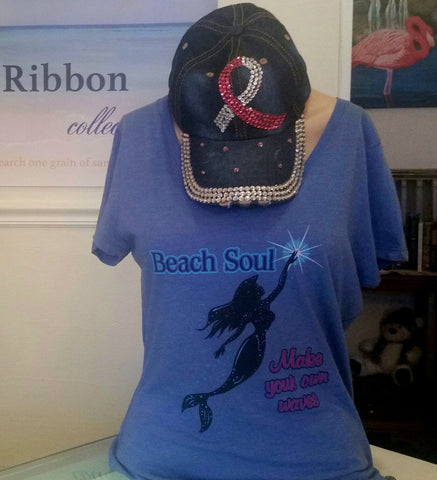 Beach Soul Mermaid Shirt