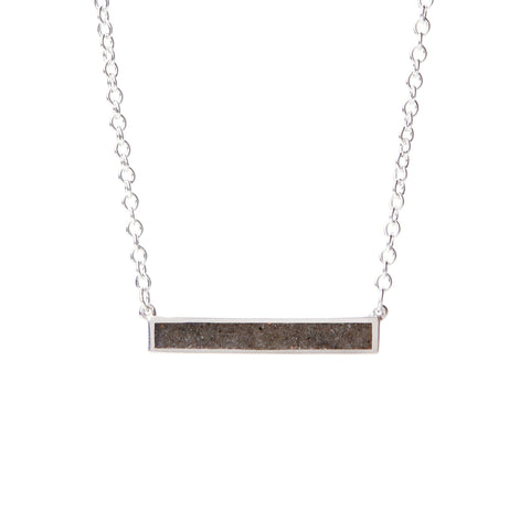 Sideways Sand Bar Necklace