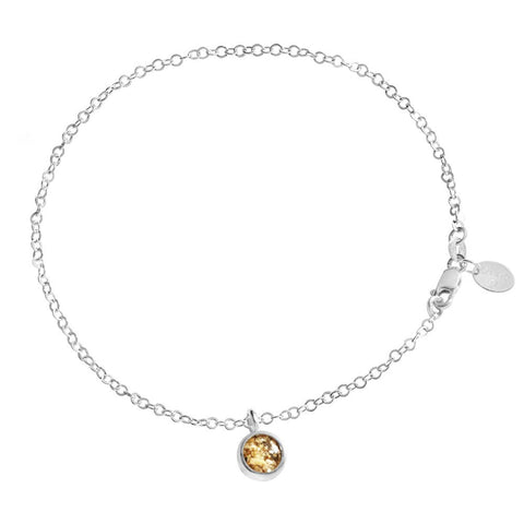 Dune Round Charm Anklet