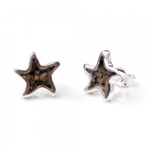 Sand Jewel Starfish Earrings