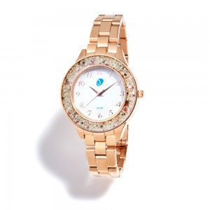 Rose gold Dune Watch