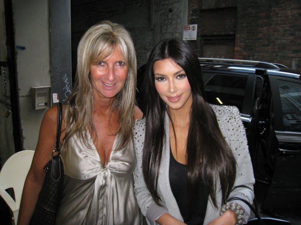 Slim Secrets' Founder & CEO Sharon Thurin with Kim Kardashian