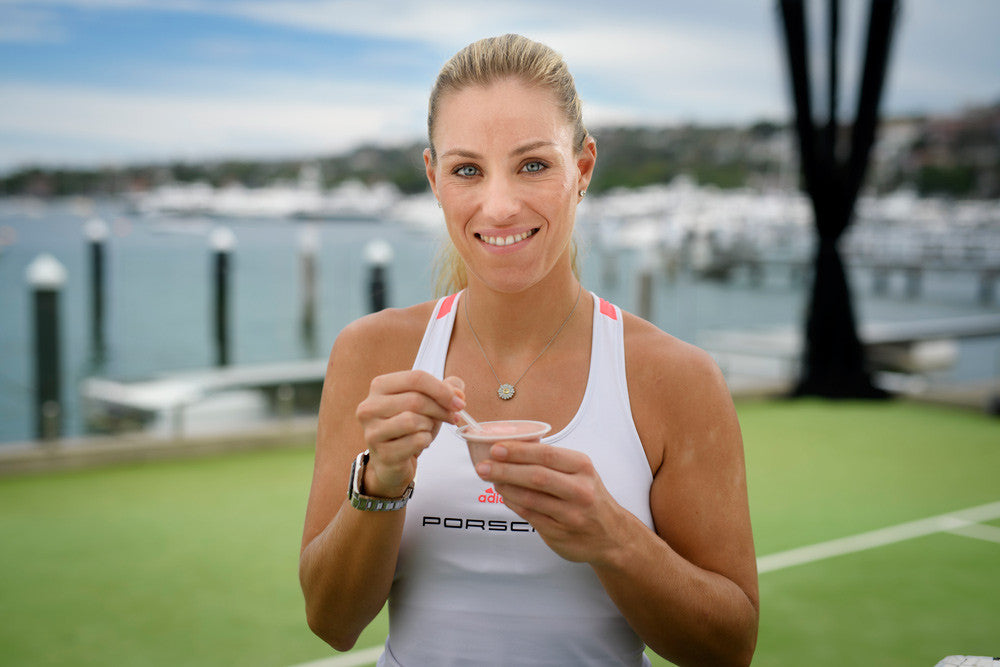 The diet of Grand Slam Champions: Angie Kerber is all about those Protein Puds