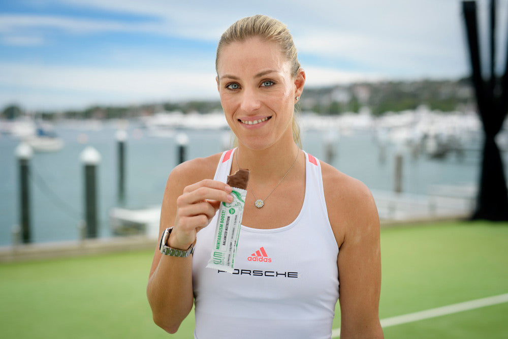 EXCLUSIVE: Behind the scenes with Tennis champion and Slim Secrets Brand Ambassador Angie Kerber