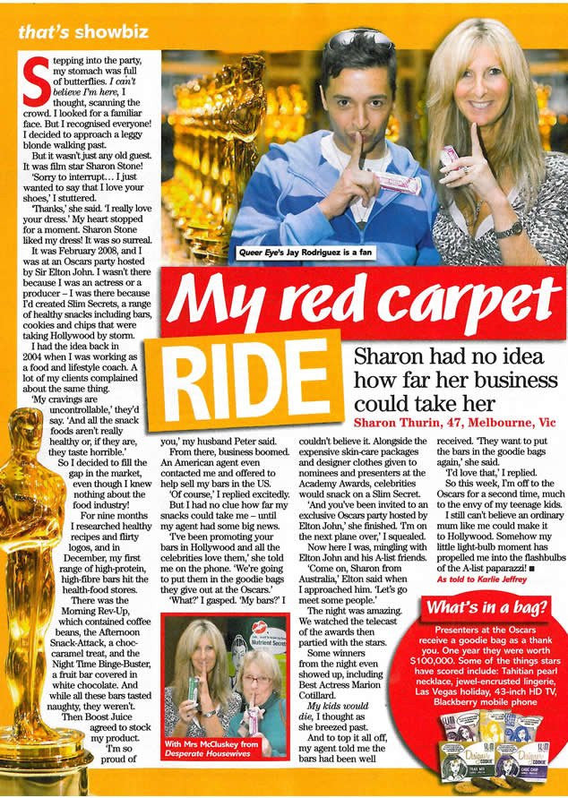 That's Life: Slim Secrets CEO's Story about The Oscars - March 2010