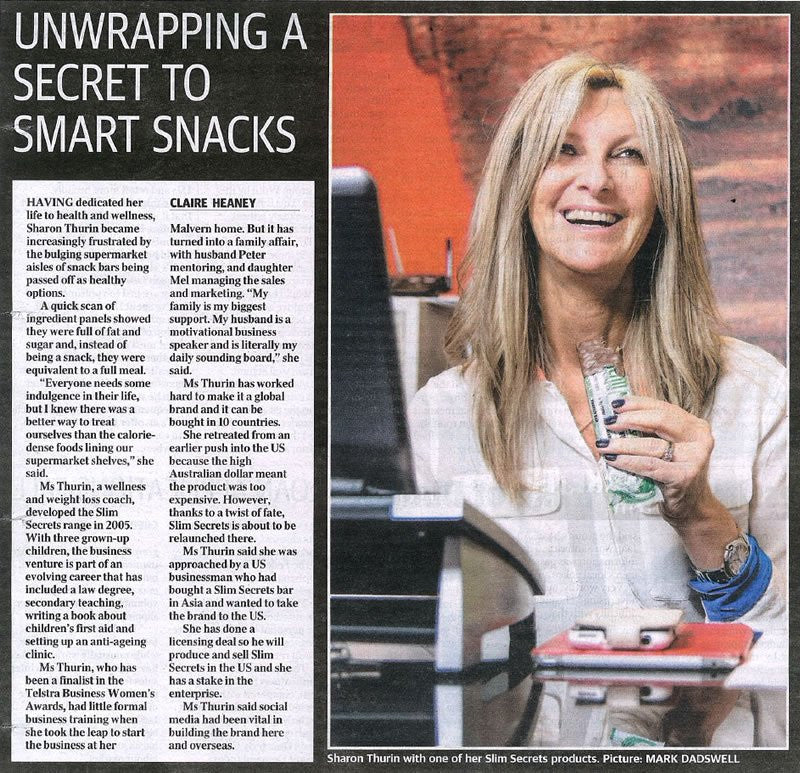 Herald Sun: Unwrapping a Secret to Smart Snacks - July 2014