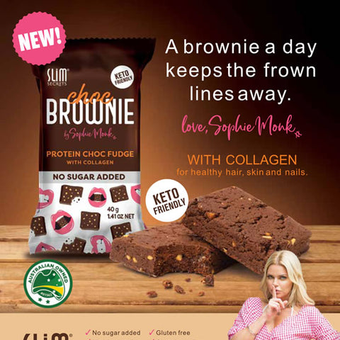 Protein Brownies by Sophie Monk