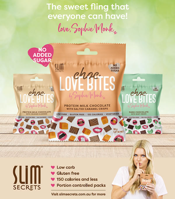 Slim Secrets Love Bites by Sophie Monk