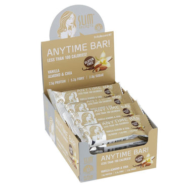 Anytime Bar! Less Than 100 Calories – Vanilla Almond & Chia