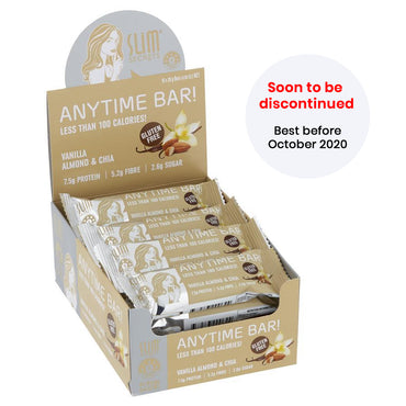 Anytime Bar! Less Than 100 Calories – Vanilla Almond & Chia - Best Before Oct 2020